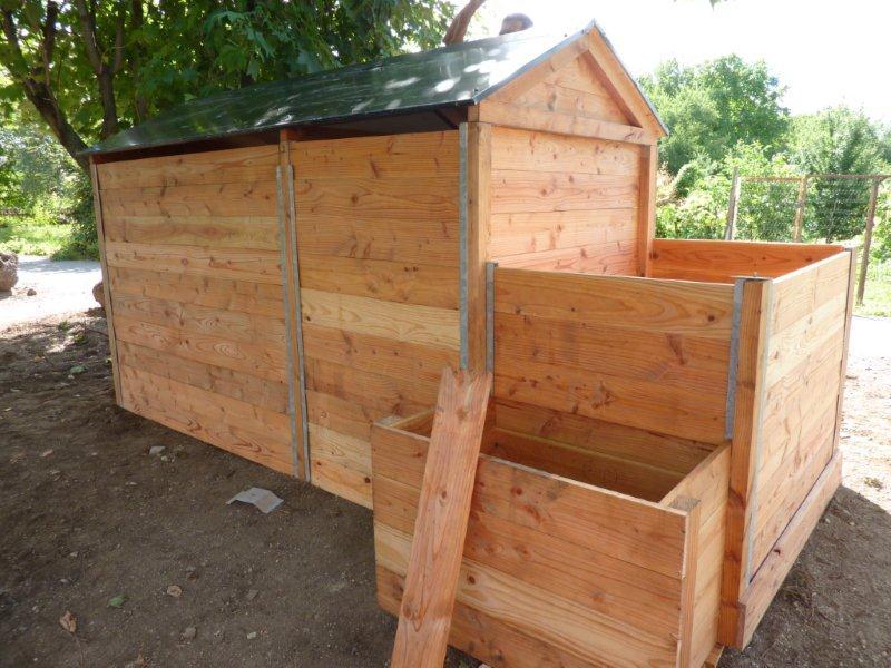 Pavillon de compostage
